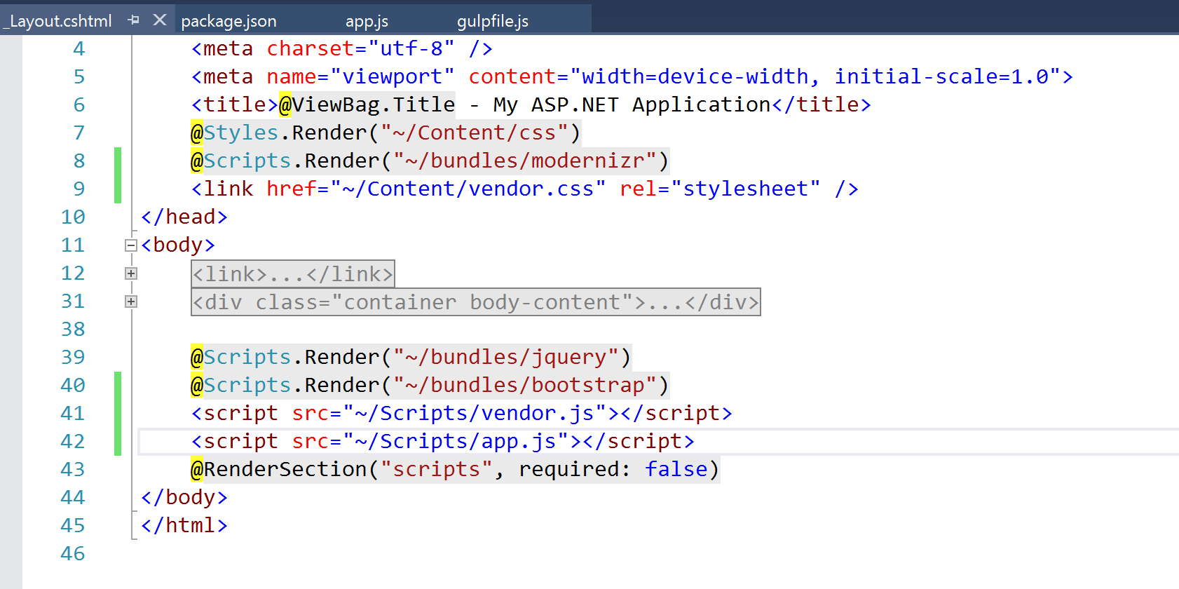 Excluding the node_modules folder when publishing ASP NET